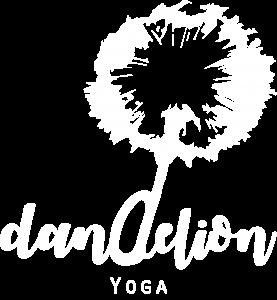 Dandelion Yoga Logo weiß